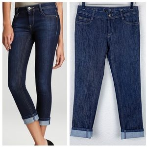 Dl1961 Toni High-Rise Cropped Skinny Jeans 26